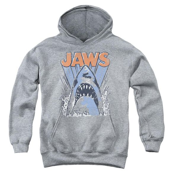 Jaws Comic Splash Youth Pull Over Hoodie