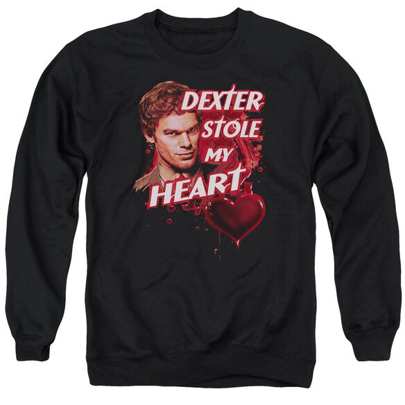 Dexter Bloody Heart Adult Crewneck Sweatshirt