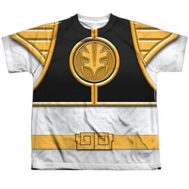 Power Rangers Ranger Short Sleeve Youth Poly Crew T-Shirt