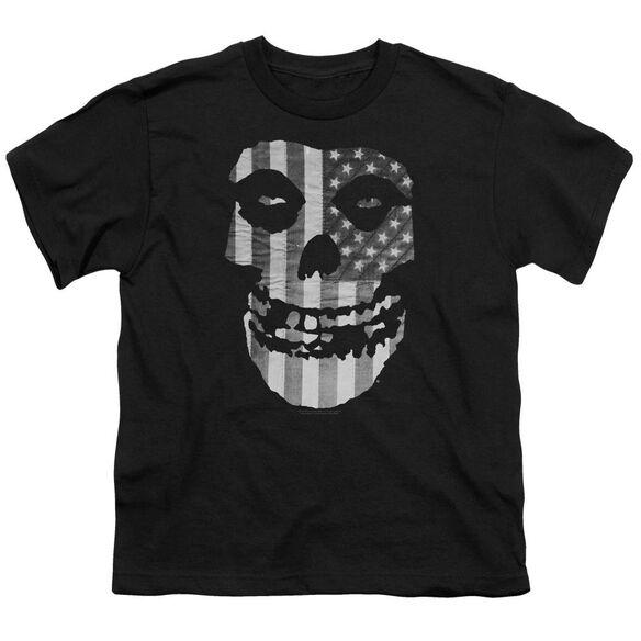 Misfits Fiend Flag Short Sleeve Youth T-Shirt