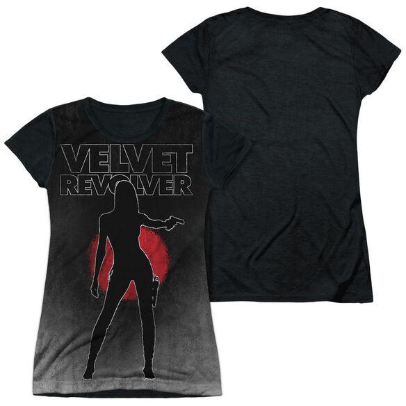 Velvet Revolver Contraband Sub Short Sleeve Junior Poly Black Back T-Shirt