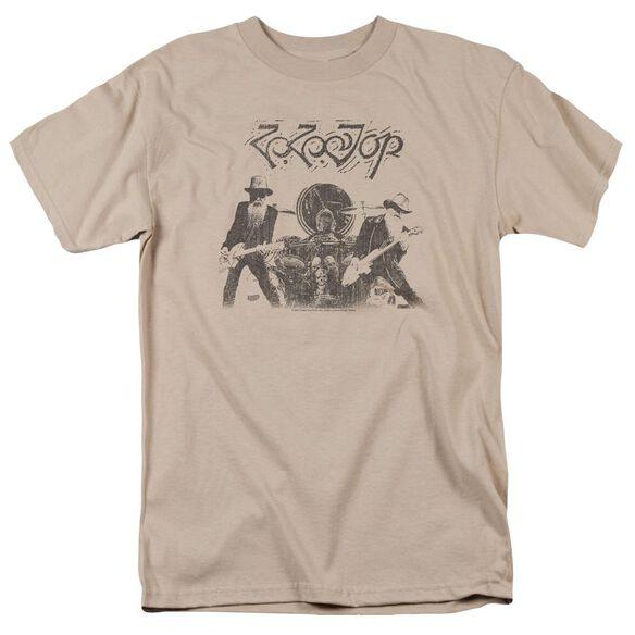 Zz Top First Album Short Sleeve Adult T-Shirt