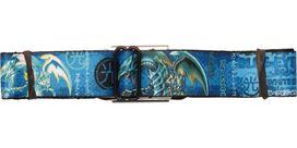 YuGiOh Blue-Eyes White Dragon Name Seatbelt Belt