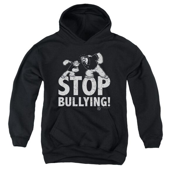 Popeye Stop Bullying Youth Pull Over Hoodie