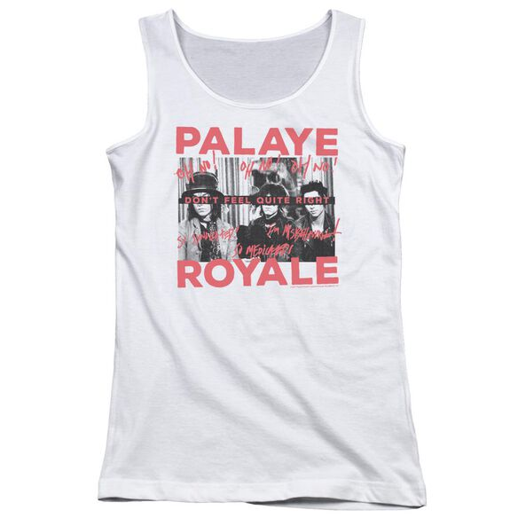 Palaye Royale Oh No Juniors Tank Top