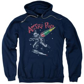 Astro Pop Space Joust Adult Pull Over Hoodie