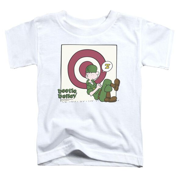 Beetle Bailey Target Nap Short Sleeve Toddler Tee White T-Shirt