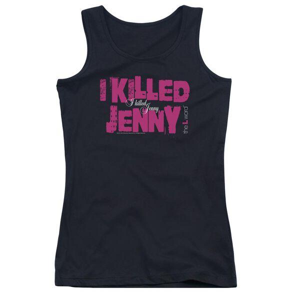 The L Word I Killed Jenny Juniors Tank Top