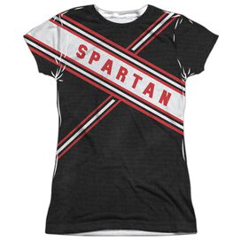 Snl Spartan Costume Short Sleeve Junior Poly Crew T-Shirt