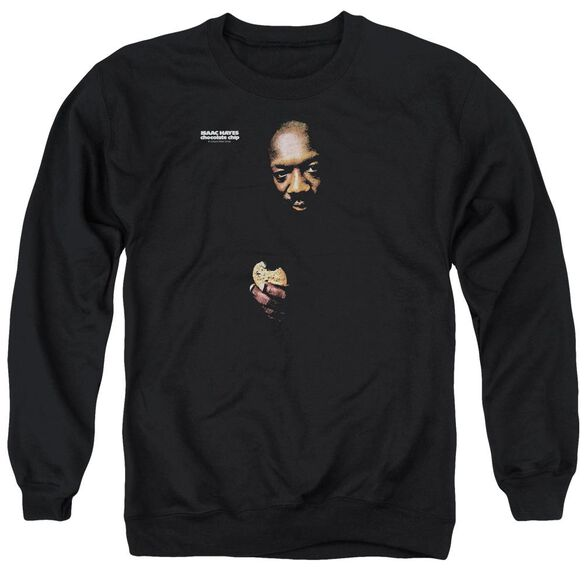 Issac Hayes Chocolate Chip Adult Crewneck Sweatshirt