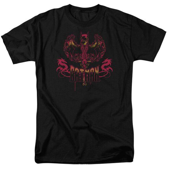 Batman Heart Of Fire Short Sleeve Adult T-Shirt