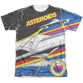 Atari Asteroids Arcade Adult Poly Cotton Short Sleeve Tee T-Shirt