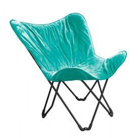 Vibrating Folding Massage Chair [Aqua]
