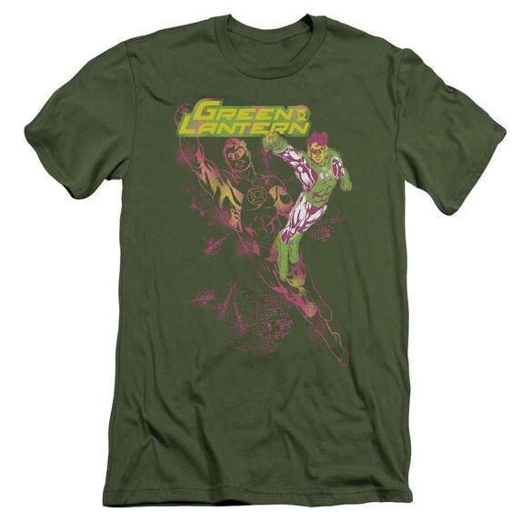 Gl Lantern Spray Short Sleeve Adult Military T-Shirt