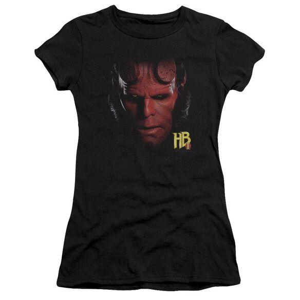 Hellboy Ii Hellboy Head Premium Bella Junior Sheer Jersey