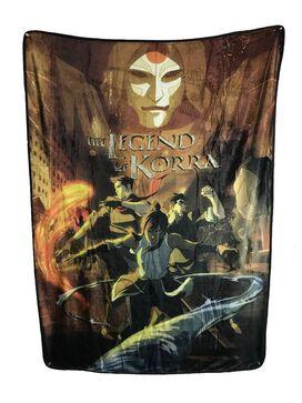 Legend Of Korra Plush Throw Blanket