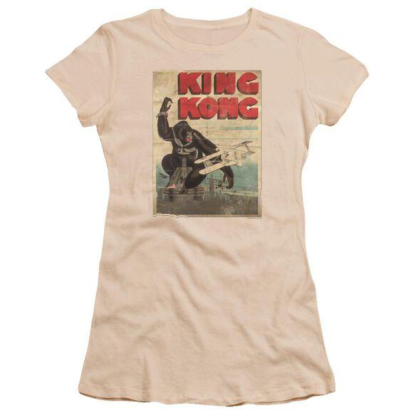 King Kong Old Worn Poster Premium Bella Junior Sheer Jersey