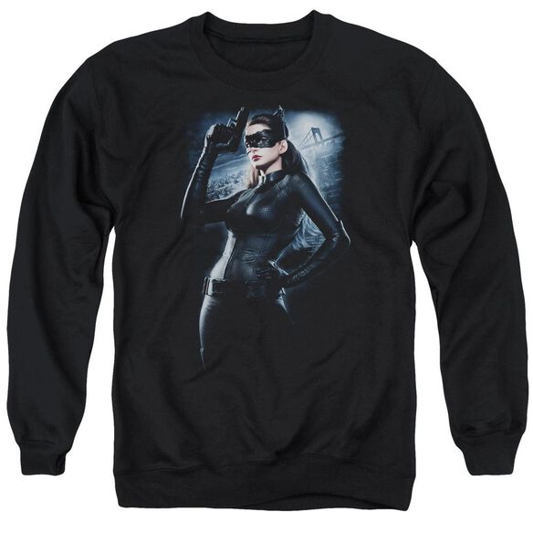 Dark Knight Rises Out On The Town Adult Crewneck Sweatshirt