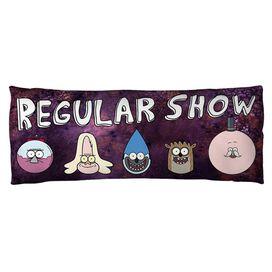 Regular Show Ooooh (Front Back Print) Microfiber Body