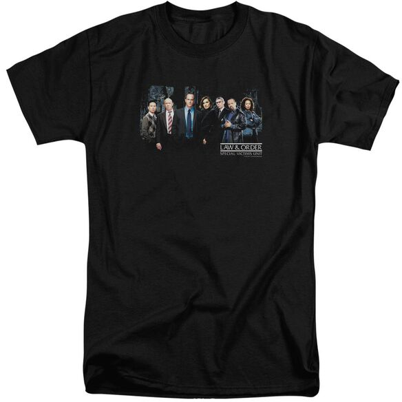 Law And Order Svu Cast Short Sleeve Adult Tall T-Shirt