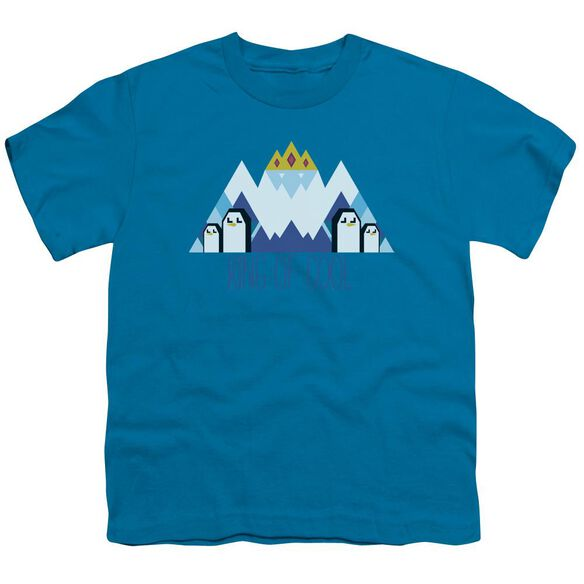 Adventure Time Ice King Geo Short Sleeve Youth T-Shirt