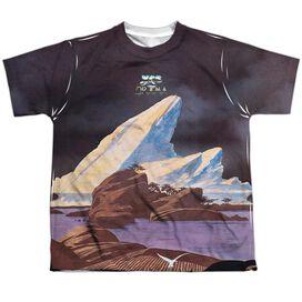 Yes Drama Short Sleeve Youth Poly Crew T-Shirt