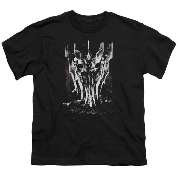 Lor Big Sauron Head Short Sleeve Youth T-Shirt