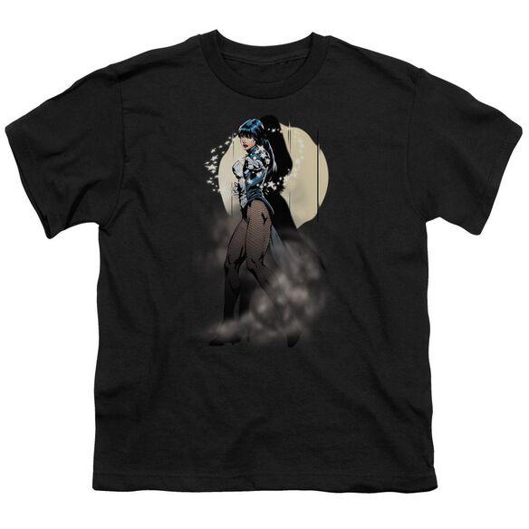 Jla Zatanna Illusion Short Sleeve Youth T-Shirt