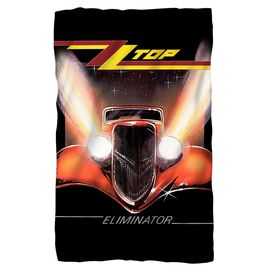 Zz Top Eliminator Cover Fleece Blanket