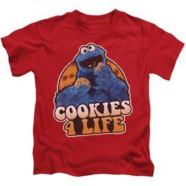Sesame Street Cookies 4 Life Short Sleeve Juvenile T-Shirt
