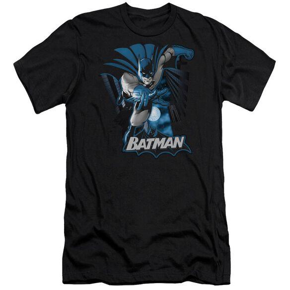 Jla Batman Blue & Gray Premuim Canvas Adult Slim Fit