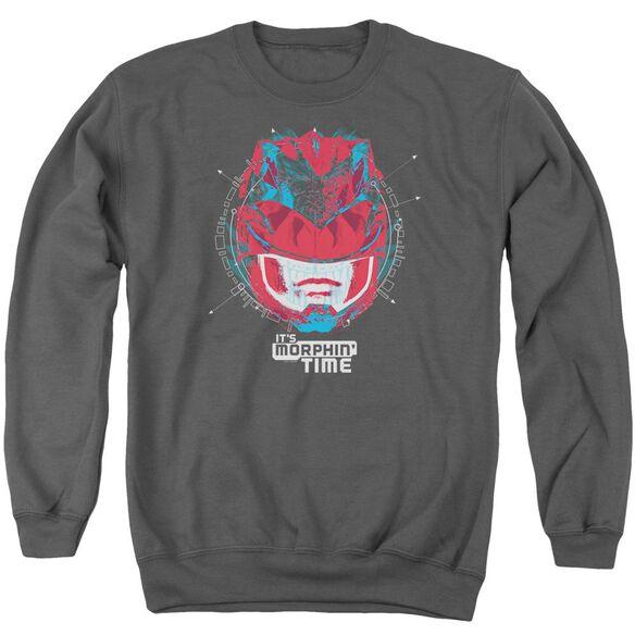 Power Rangers Its Morphin Time Adult Crewneck Sweatshirt