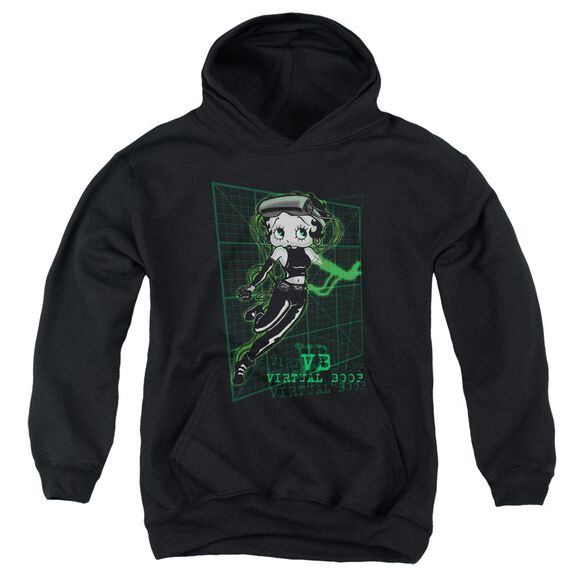 Betty Boop Virtual Boop Youth Pull Over Hoodie
