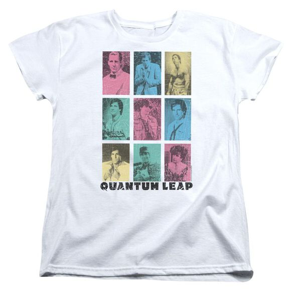 Quantum Leap Faces Of Sam Short Sleeve Womens Tee T-Shirt