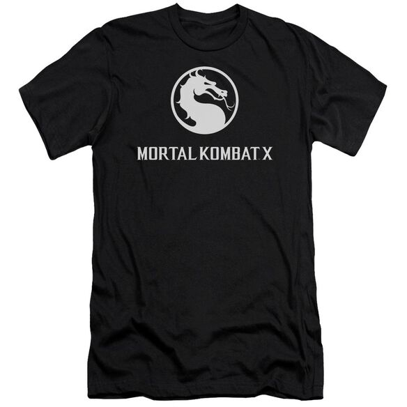 Mortal Kombat X Dragon Logo Short Sleeve Adult T-Shirt