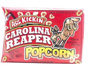 Ass Kickin' Carolina Reaper Popcorn