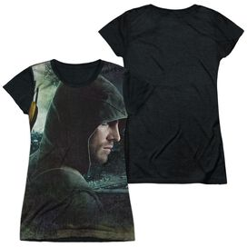 Arrow Hero Short Sleeve Junior Poly Black Back T-Shirt