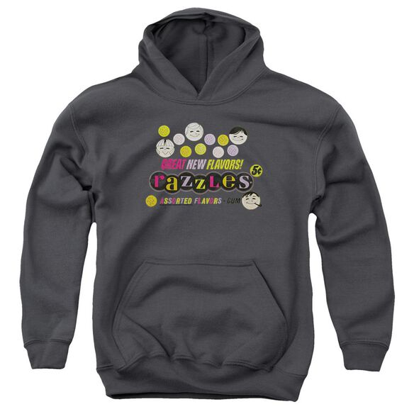 Dubble Bubble Razzles Retro Box Youth Pull Over Hoodie