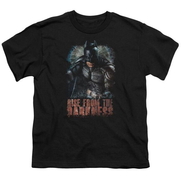 Dark Knight Rises Rise From Darkness Short Sleeve Youth T-Shirt