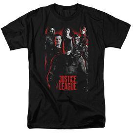 Justice League Movie The League Short Sleeve Adult T-Shirt