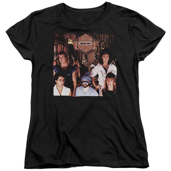 Night Ranger Midnight Madness Short Sleeve Womens Tee T-Shirt