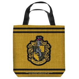 Harry Potter Hufflepuff Stitch Crest Tote