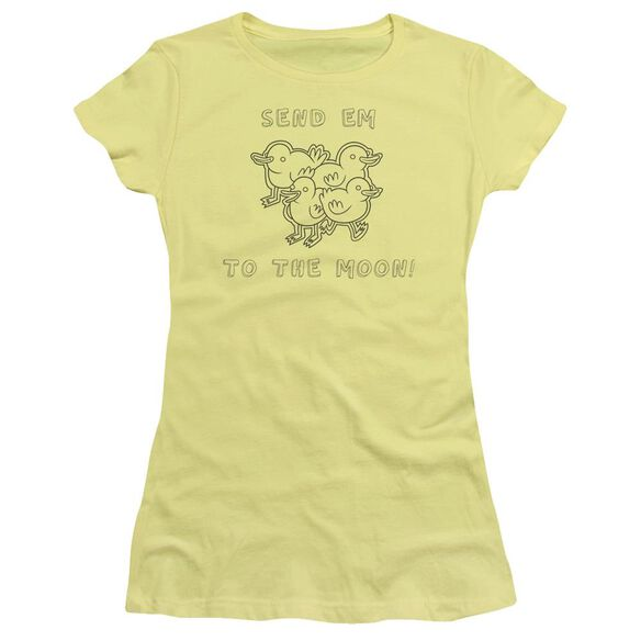 Regular Show Baby Ducks Hbo Short Sleeve Junior Sheer T-Shirt