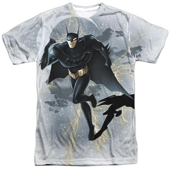 Beware The Batman Storm Sprint Short Sleeve Adult Poly Crew T-Shirt