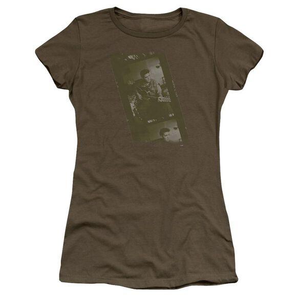 Elvis Army Premium Bella Junior Sheer Jersey Military
