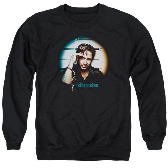 Californication In Handcuffs Adult Crewneck Sweatshirt