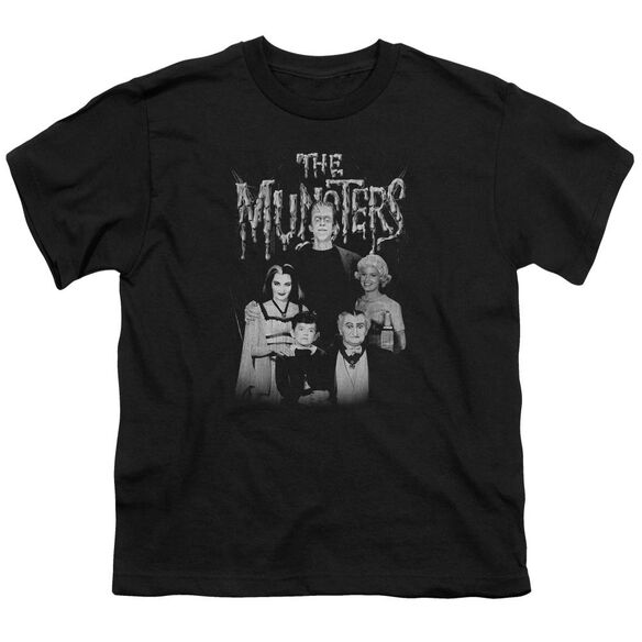The Munsters Family Portrait Short Sleeve Youth T-Shirt