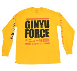 Dragon Ball Z Ginyu Force Long Sleeve T-Shirt [Convention Exclusive]
