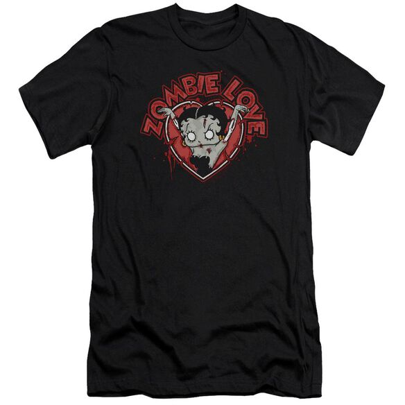 Betty Boop Heart You Forever Premuim Canvas Adult Slim Fit