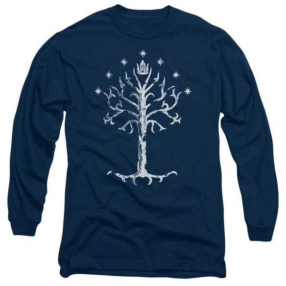 Lor Tree Of Gondor Long Sleeve Adult T-Shirt